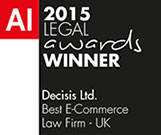 AI 2015 Legal Awards Winner Decisis Limited